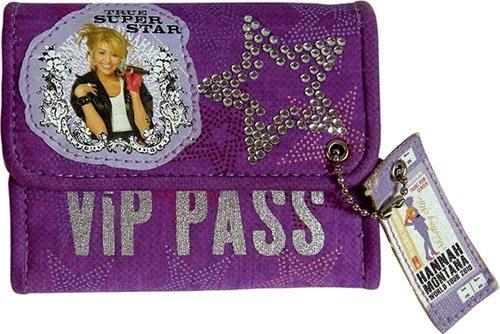 United Labels - 0805536 - Portmonee - Hannah Montana, Disney (United Baumwoll-jersey)