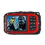 Andoer wasserdichte Digitalkamera 16MP 2.7 LCD Recorder Mini Camcorder DV Unterwasser action cam digitalkamera wasserdicht Max 10M Tauchen 8-fachem Digital Zooming Gesichtserkennung