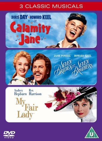 Calamity Jane/Seven Brides For Seven Brothers/My Fair Lady [DVD] by Doris Day (Lady My Dvd Fair Film)