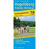 Vogelsberg - Östliche Wetterau: Radwanderkarte mit Ausflugszielen, Einkehr- & Freizeittipps, wetterfest, reissfest, abwischbar, GPS-genau. 1:100000