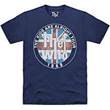Official The Who Camiseta - Kids Are Alright Tour 1989, Para hombre
