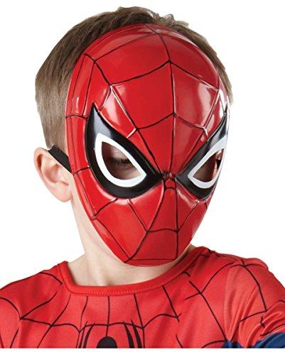 Lizenzierte Marvel Spiderman Halbmaske für (1 Film Spiderman Kostüm)