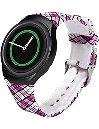 Samsung Galaxy Gear S2 SM-R720 correas para reloj - Sannysis correas para relojes, Silicona de Banda, color D