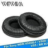 WEWOM 2 Oreillettes de Remplacement de Haute qualité pour Casques Sony MDR V500DJ,...