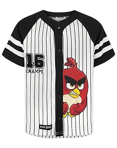 Garçons - Noisy Sauce - Angry Birds - T-Shirt (7-8 Ans)