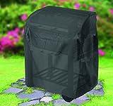 Tepro Universal Grillabdeckhaube für Grillwagen, klein, schwarz, 48.3 x 104.1 x 101.6 cm, 8100