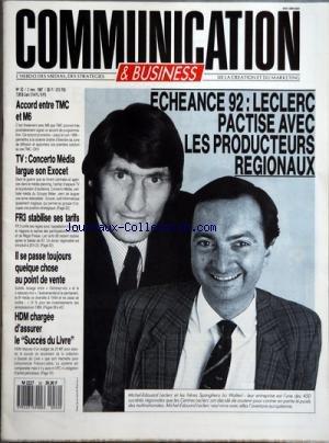 COMMUNICATION [No 52] du 02/11/1987