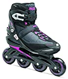 Roces Damen Inlineskates Optic, Black-Shocking Pink, 37, 400800-001