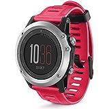 Remplacement Bracelet en silicone Bracelet Sangles montre bracelet Band pour Garmin Fenix 3/HR Fitness montre Sangles
