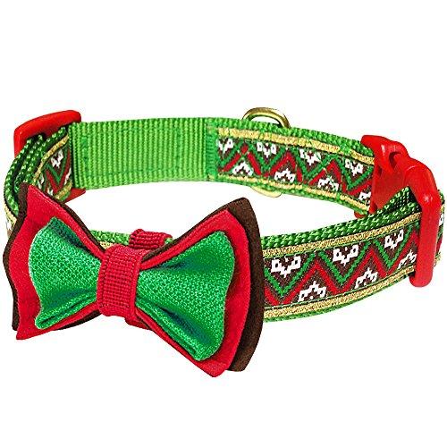Blueberry Pet Halsbänder für Hunde 1,5cm S Weihnachts-