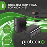 Gioteck - Dual Battery Pack + Cable Play & Charge (Xbox One)