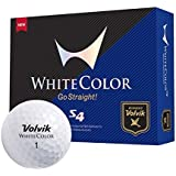 Volvik S4 Golf Balls - White by Volvik