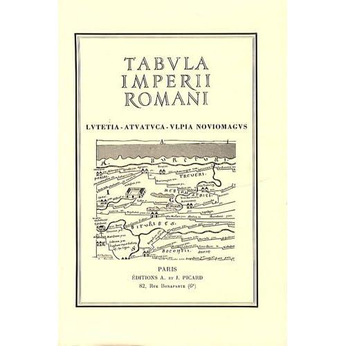 Tabula Imperii romani. Lutetia, Atuatuca, Ulpia Noviomagus