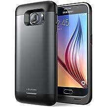 i-Blason Hard Case - Funda para Samsung Galaxy S6 con batería integrada (4000 mAh), negro
