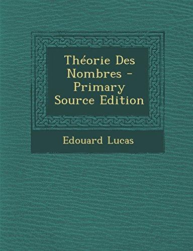 Theorie Des Nombres