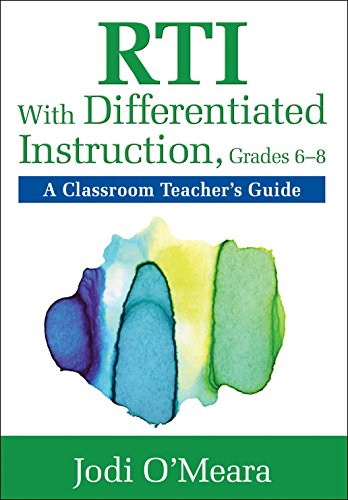 Rti With Differentiated Instruction Grades 68 A Classroom By Jodi