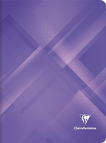 Clairefontaine Notizheft Mineral violett -