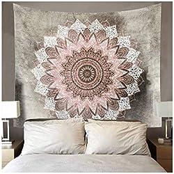 tapiz indio de mandalas para pared