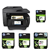 HP OfficeJet Pro 8725 Multifunktionsdrucker schwarz + HP 953XL Multipack