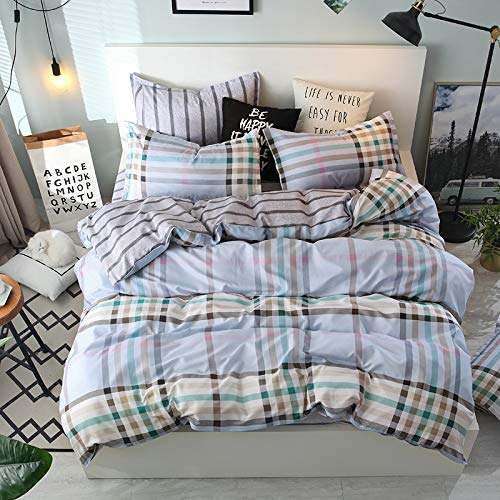 muzi928 Tall Buildings Bedding Set Bedclothes Winter Home Textiles King Queen Full Twin Size Duvet Cover Bed Linen Pillowcase150*202cm -