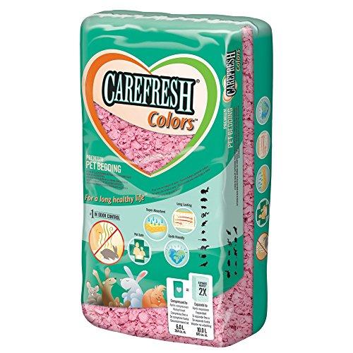 Healthy Pet Carefresh Colours Einstreu für Kleintiere(10 l) (10 l) (Rosa)