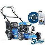 Hyundai 99cc 4-Stroke Petrol Lawn Mower 40 Centimeter / 400 Millimetre Cutting Width