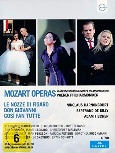 Mozart Opern: Cosi fan tutte - Don Giovanni - Le nozze di Figaro [6 DVDs]