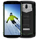 IP68 Smartphone,Blackview BV5800 (2018) Outdoor Handy Wasserdichte Stoßfest Staubdicht, Android 8.1 Smartphone 13MP + 8MP Kameras, 5580mAh mit 18:9 Touch Display Robustes Handy, OTG,GPS,NFC,Grün