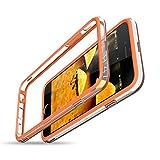 CE-LINK Coque iPhone 6S Coque iPhone 6 Bumper, Antichocs Souple [Bords de Protection surélevés], Housse Etui de Protection, [Pas de Plaque arrière] Anti-égratignures Solide Cover - Orange