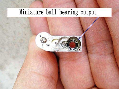 Generic Precision full metal gear box micro-motor belt 5K potentiometer European micro DC geared motor