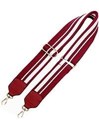 Umily 5cm dames Étoile bandoulière pour les poches 90-135cm PU bandoulière en cuir sangle ceinture bandoulière pour sacs à bandoulière