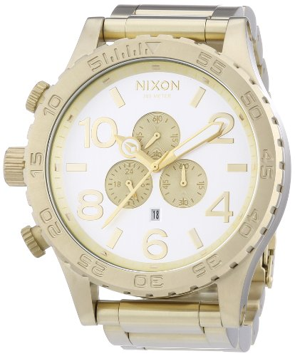 Nixon Unisex Watch The 51 30 Chrono Chronograph Quartz Stainless Steel Coated A0831219/00