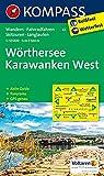 Wörthersee, Karawanken West: Wanderkarte mit Aktiv Guide, Panorama, Radwegen, Skitouren und Loipen. GSP-genau. 1:50000 (KOMPASS-Wanderkarten, Band 61)