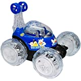 Hakimi®360 Degrees Rotating Front Axle Spinning Wheels Stunt Car With Colourful 3D Lights & Music -(Colours As Per Availability)