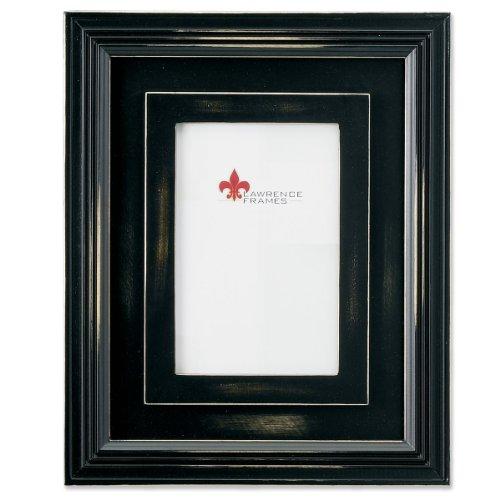 Lawrence Frames dreidimensionale Rustikal Schwarz Holz 8x 10Bilderrahmen