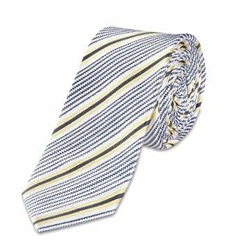 s.Oliver BLACK LABEL Herren Krawatte 12.305.91.5007, Gr. one size, Blau (5490)