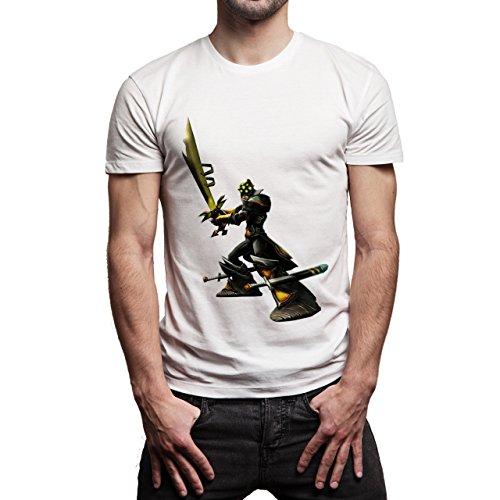 League Of Legends Champion Character Art Aram Background Herren T-Shirt Weiß