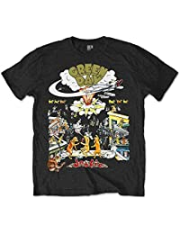Green Day 1994 Dookie Live Tour Punk Rock officiel T-shirt Hommes unisexe