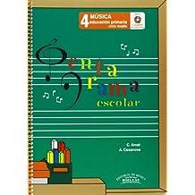 Pentagrama Escolar Música 4: Educación Primaria. Ciclo Medio