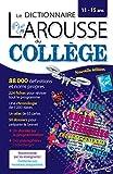 Larousse dictionnaire du Collège - Larousse - 07/06/2017