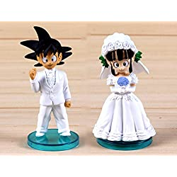 Figura tarta Goku boda Dragon Ball - Figuras de 8cm