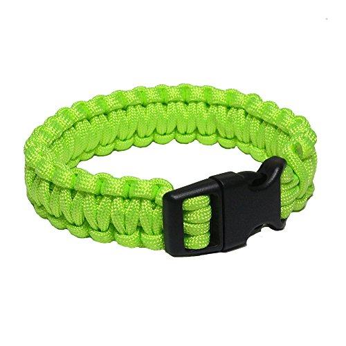 Mil-Tec Bracelet de Paracorde (Vert, Small)