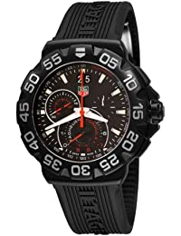 TAG HEUER FORMULA 1 MEN'S STAINLESS STEEL CASE CHRONOGRAPH UHR CAH1012.FT6026