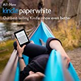 "Kindle Paperwhite 3G, 6"" High Resolution Display (300 ppi) with Built-in Light, Free 3G + Wi-Fi 4"