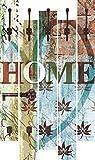 Artland Qualitätsmöbel I Garderobe mit Motiv 5 Holz-Paneele mit Haken 68 x 114 cm Statement Bilder Sprüche Texte Digitale Kunst Bunt G5TQ Buntes zu Hause in taktvollen Farben