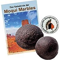 """Moqui Marbles Paar ca. 3,5-4cm. MIT Zertifikat, deutschsprachigem BOOKLET """"Das Geheimnis der Moqui-Marbles"""" und... preisvergleich bei billige-tabletten.eu"""