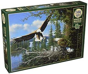 Cobblehill 80070 - Puzzle de 1000 Piezas, diseño de águilas