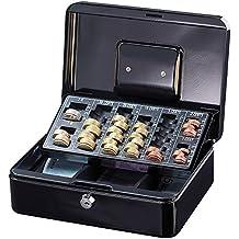 Xcase 3097 Geldkassette mit herausnehmbaren Euro Münzbrett