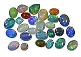 Banithani naturale 100% etiope WELO opale di fuoco Multi colore Play Loose calibrato Gemstone, colore: Lot Of 15 Pieces, cod. ST13867A