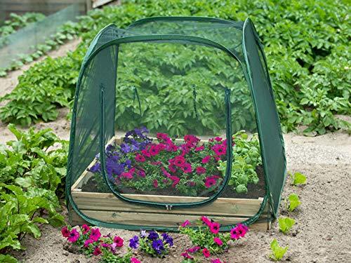 Nature Filet Anti-Insectes pour carré Potager - 100x100x100cm